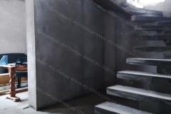 Изготовление лестницы бетонной