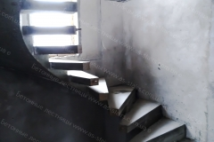 Лестница бетонная фото