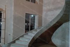 Строительство бетонной лестницы
