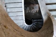 Железобетонная лестница в доме
