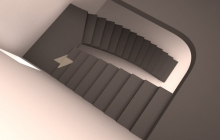 2-х маршевая лестница из бетона