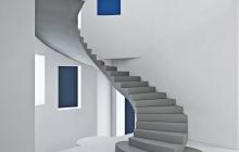 Гладкоподшитая лестница