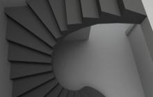 Бетонные ступени на 2 этаж