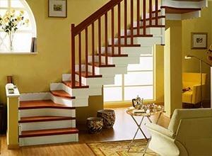 Изготовление Г-образной бетонной лестницы с угловой промежуточной площадкой