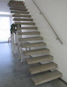 Лестницы из бетона на заказ древесная щепа бетон