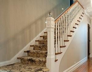Изготовление одномаршевых монолитных лестниц